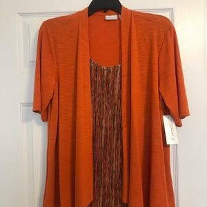 NWT Kim Rogers dress shirt size XL